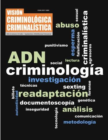 Adn Criminología By Rogelio Morales Issuu