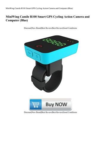 Camile R100 GPS Smart Cycling Camera-Blue