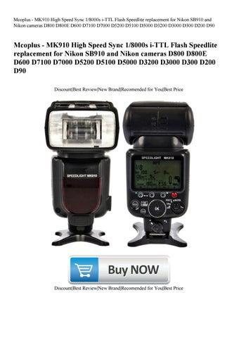 Mcoplus - MK910 High Speed Sync 18000s i-TTL Flash Speedlite