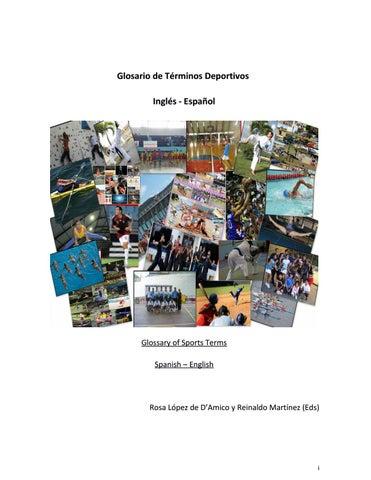 Libro Diccionario Inglés Español términos Deportivos by luisa ... 30323f606d7