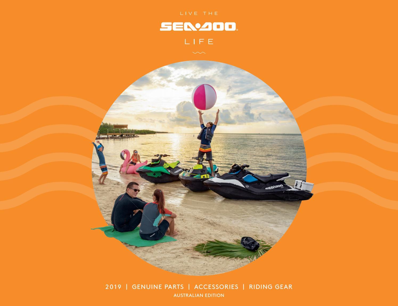 MY19 Sea-Doo PAC Catalog - Australia by Triple 888 Studios