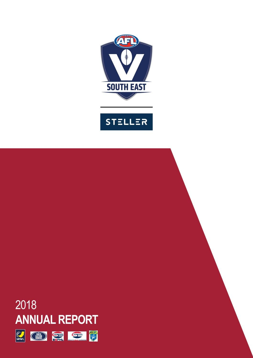 Afl South East Annual Report 2018 By Issuu