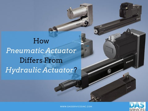 What is the Difference Between Pneumatic Actuator and