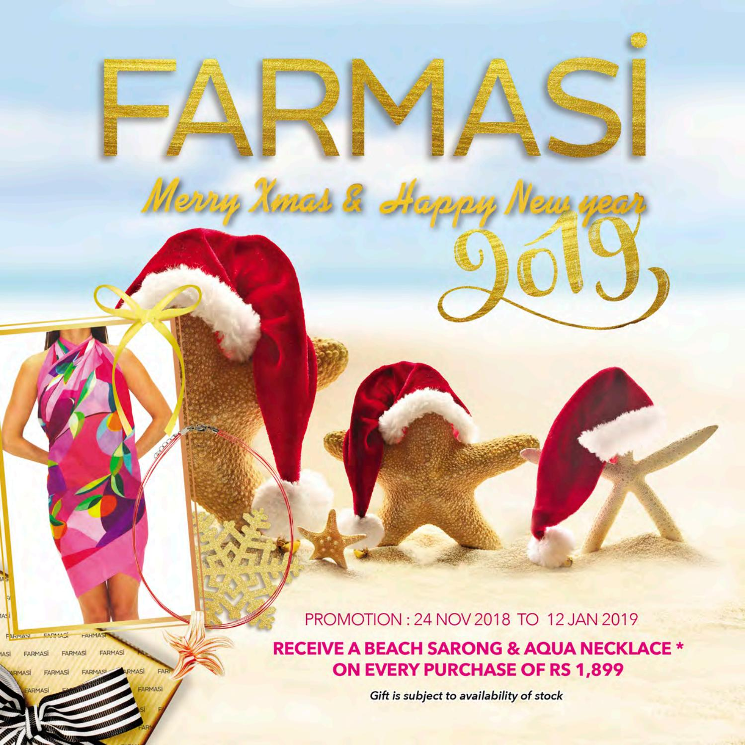 Runescape Christmas 2019.Farmasi December Promo Catalogue 24 Nov 2018 12 January