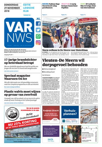 88fd418d2ce VARnws Leidsche Rijn 29 november 2018 by VARnws - issuu