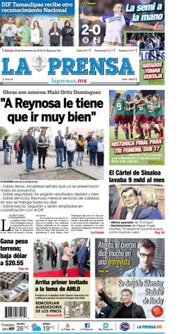 2021f95977b5 LA PRENSA 29 NOV 18 by La Prensa De Reynosa - issuu