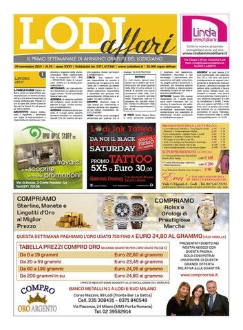 Lodi Affari 29 Novembre by Lodi Affari issuu