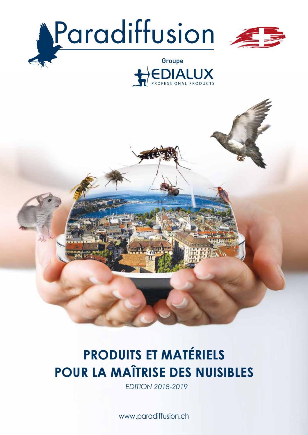 Quel Produit Pour Tuer Les Blattes catalogue paradiffusion 2018edialux - issuu
