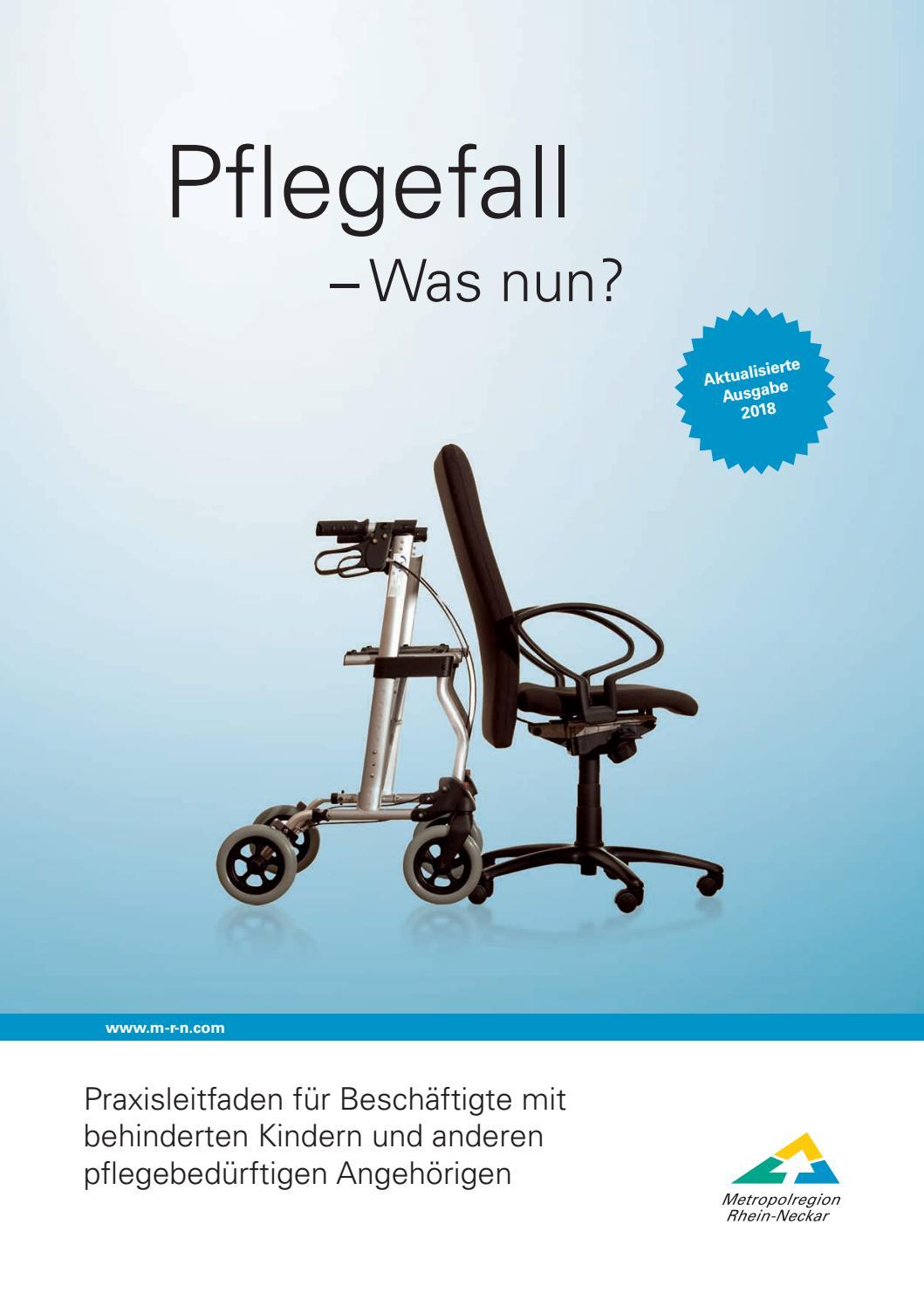 Praxisleitfaden Fur Beschaftigte Mit Behinderten Kindern Und Anderen Pflegebedurftigen Angehorigen By Rhein Neckar Issuu