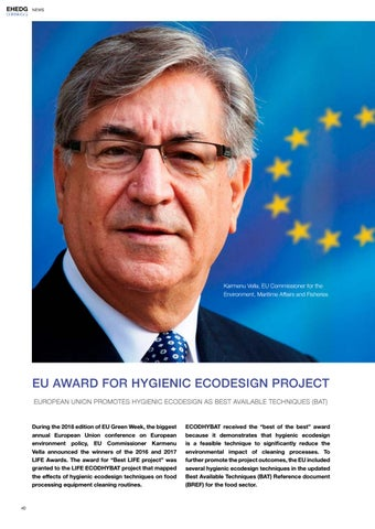 Page 40 of EU Award for Hygienic Ecodesign Project