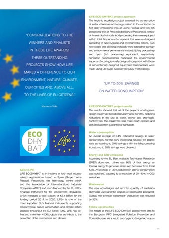 Page 41 of EU Award for Hygienic Ecodesign Project