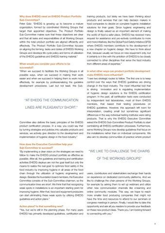 Page 9 of EHEDG Product Portfolio