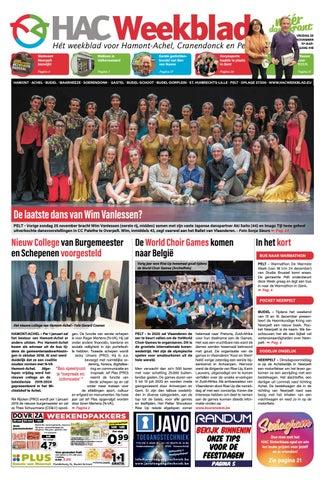 HAC Weekblad week 48 2018 BE by HAC Weekblad issuu