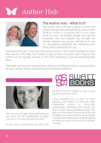 Page 16 of Author Hub