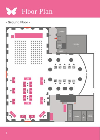 Page 4 of Floor Plan and Exibitors