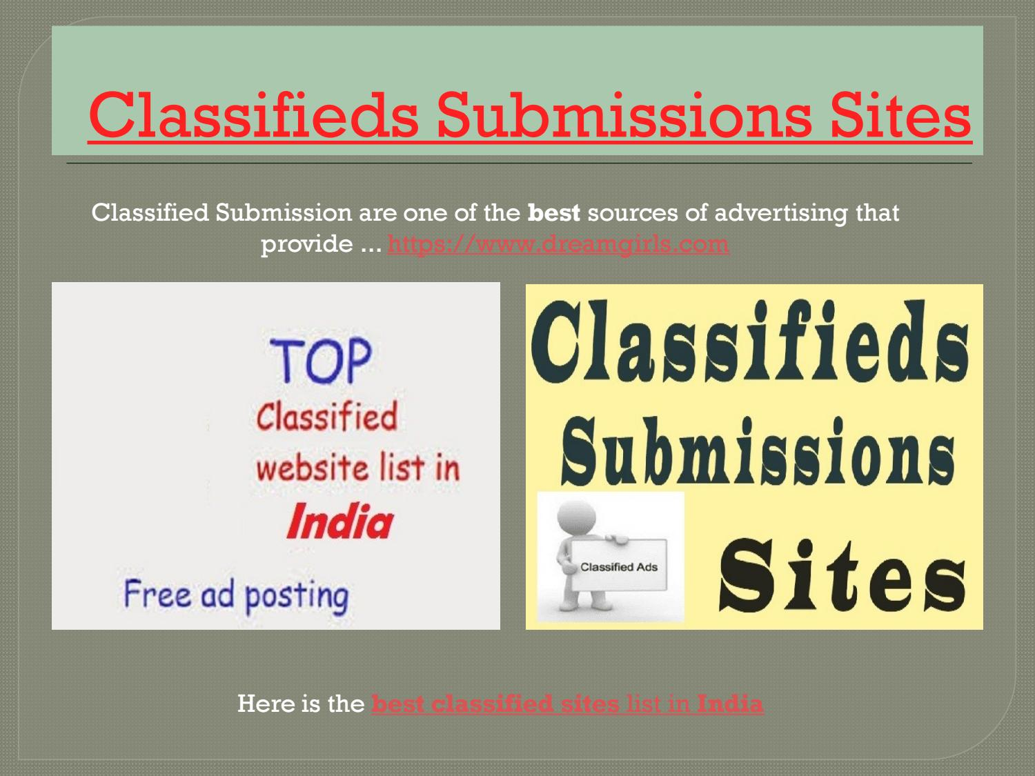 Ad Post Free Classified Site In India by Dipali Mandal - issuu