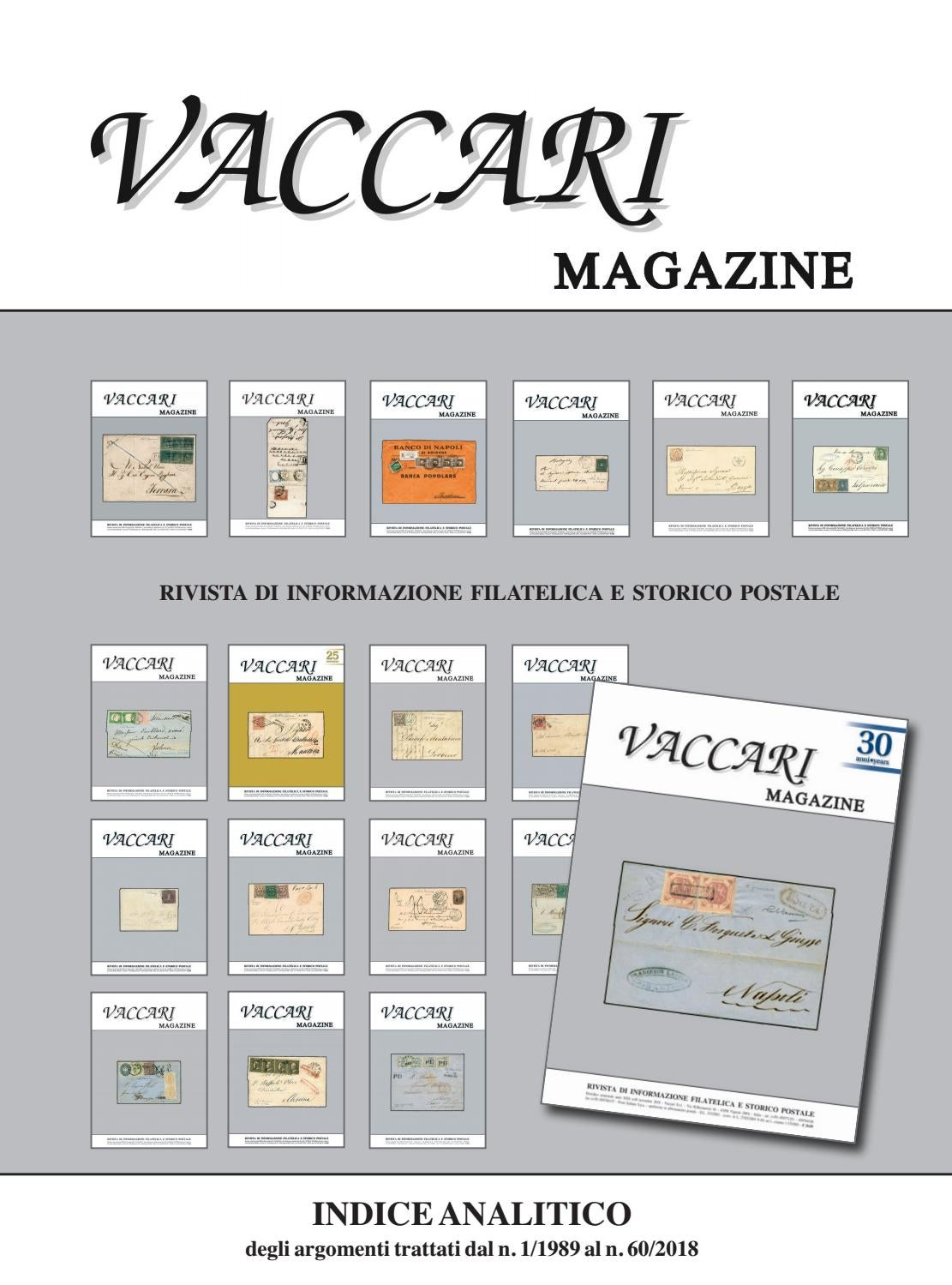 Vaccari Magazine indice analitico 1-60 by Vaccari - issuu 3efcde2cadcc