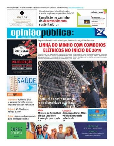 Opinião Pública - 1386 by Editave Multimédia - issuu 4214f33ece