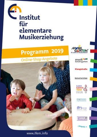 d41f2c2167242 Institut für elementare Musikerziehung Programm 2019 Online-Shop-Angebote