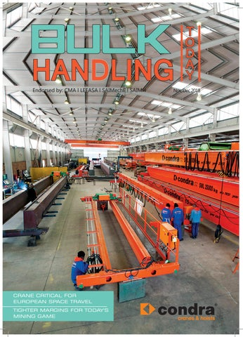 8aa754192909 Bulk Handling Today Nov Dec 2018 by Promech Publishing - issuu