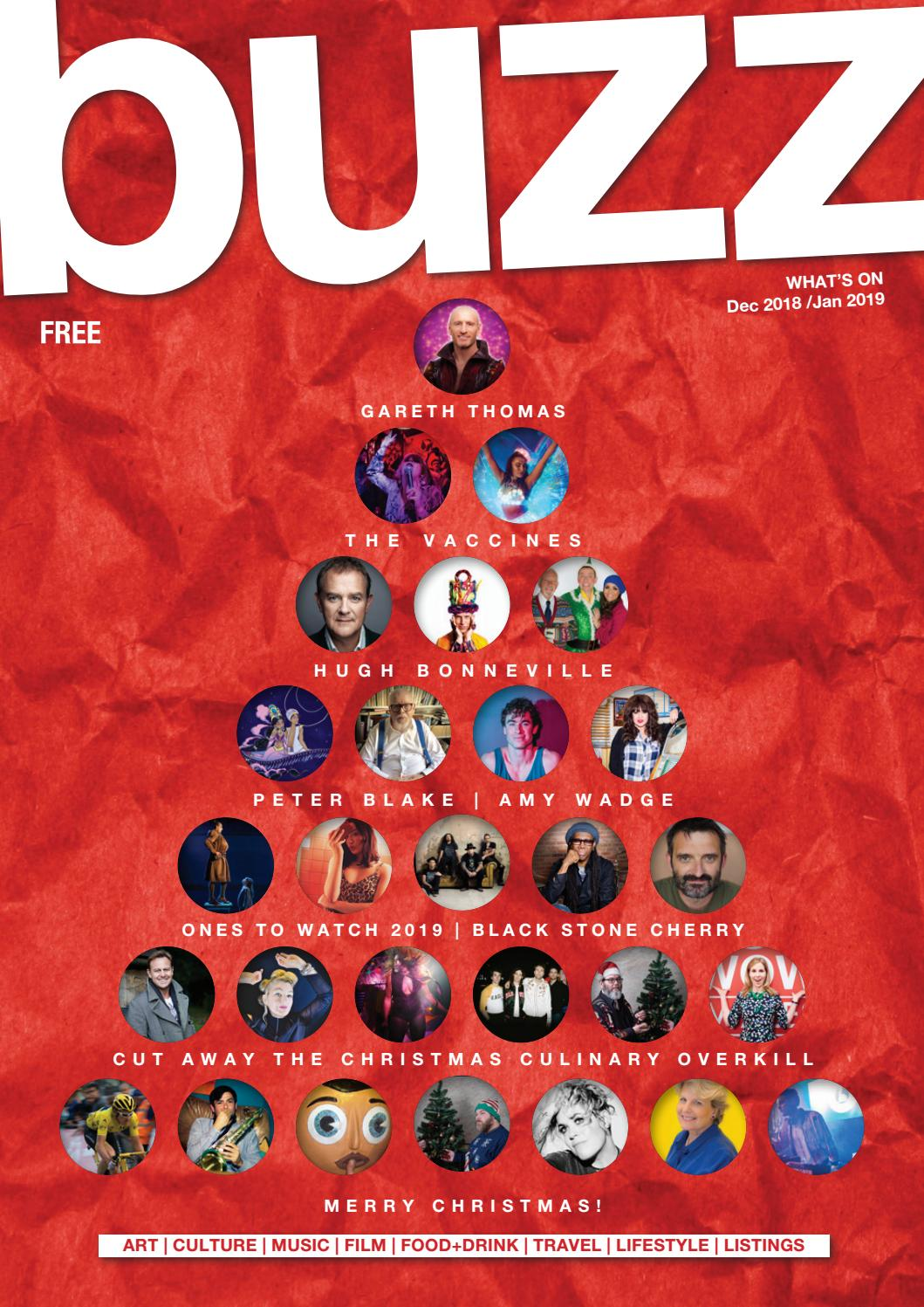Buzz Magazine - December 2018/January 2019 by Buzz Magazine