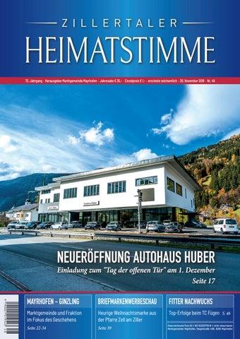 Zillertaler Heimatstimme - Ausgabe 46 2018 by Zillertaler