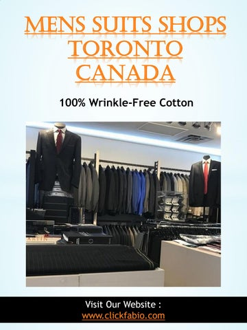 157c2279be2 Mens Suits Shops Toronto Canada 100% Wrinkle-Free Cotton