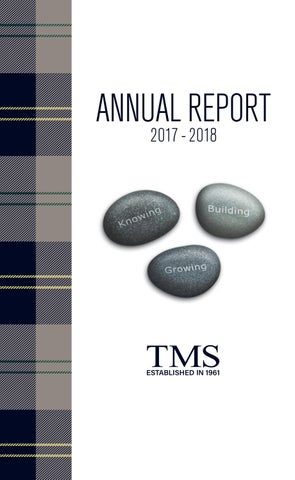 Annual Giving Report 2017-2018 by TMS - issuu