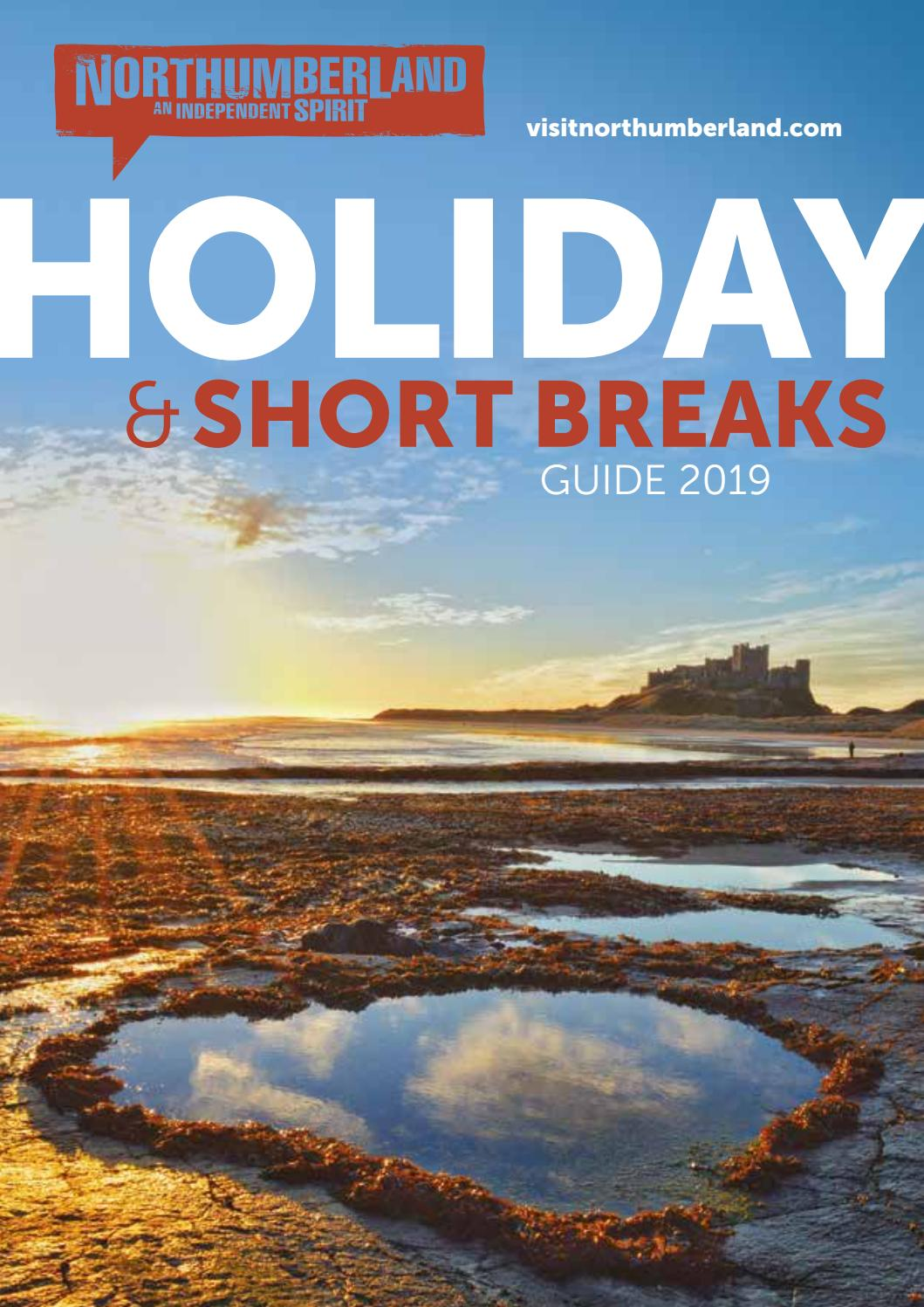 Official Northumberland Holiday & Short Breaks Guide 2019 by