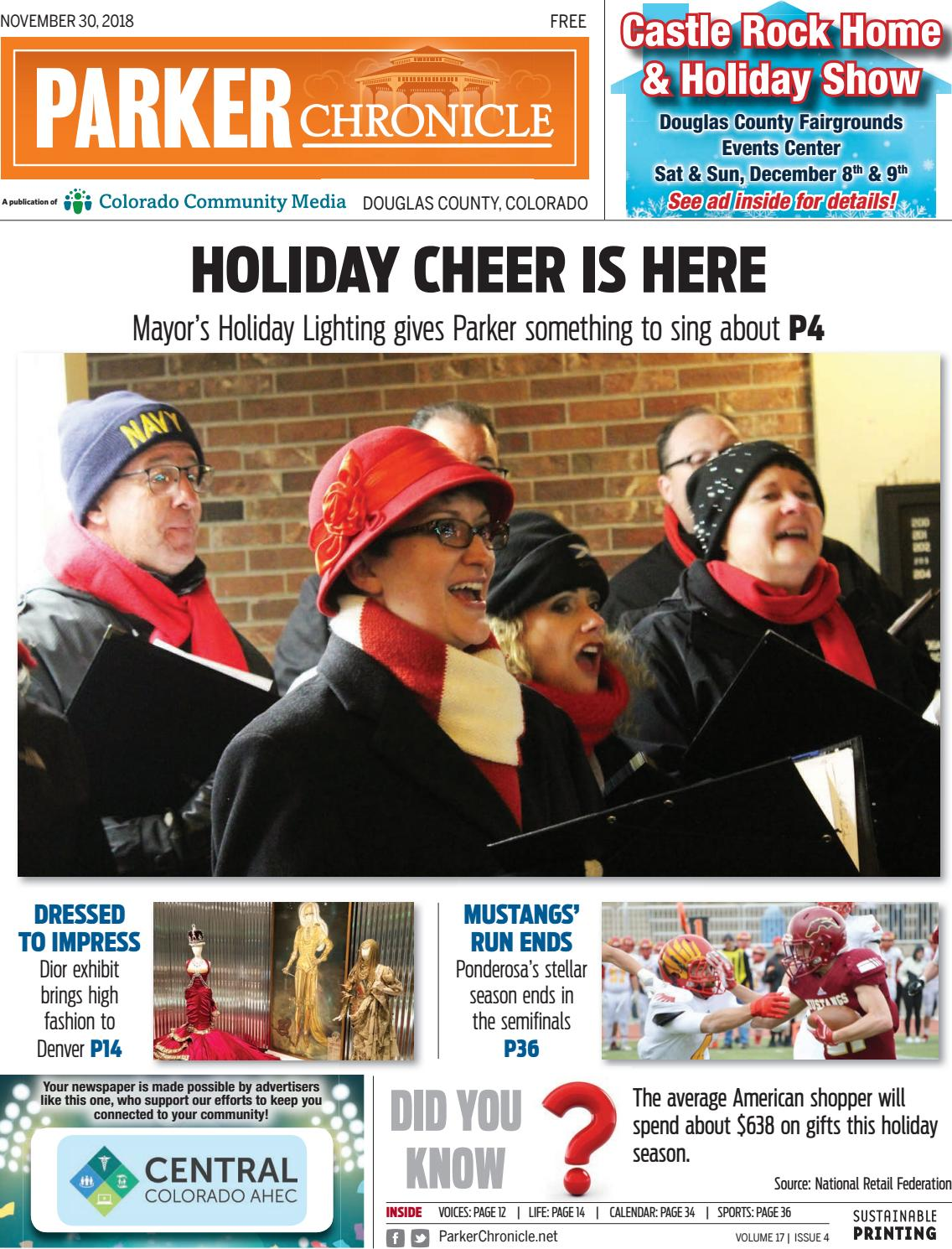 Frohe Weihnachten 303274bersetzung.Parker Chronicle 1130 By Colorado Community Media Issuu