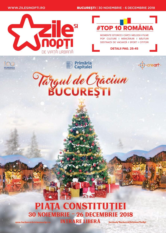 Zile și Nopți București 30 Noiembrie 2018 By Zile Si Nopti Issuu