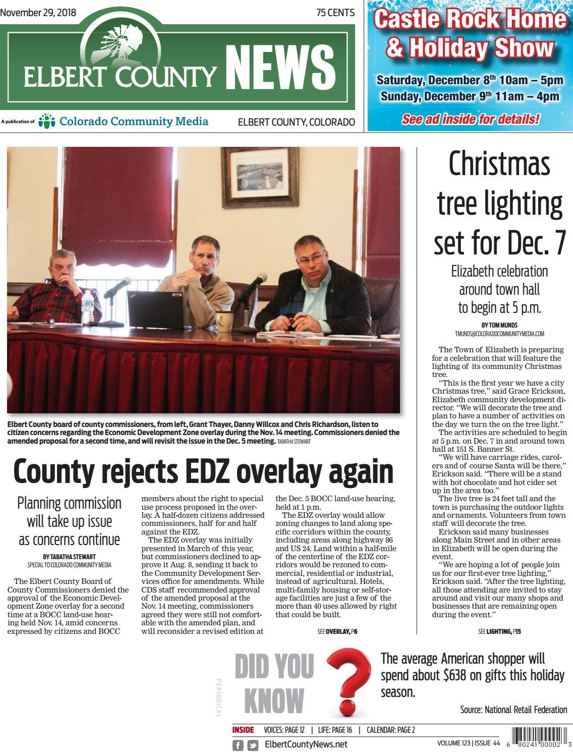H303266rspiel Weihnachten.Elbert County News1129 By Colorado Community Media Issuu
