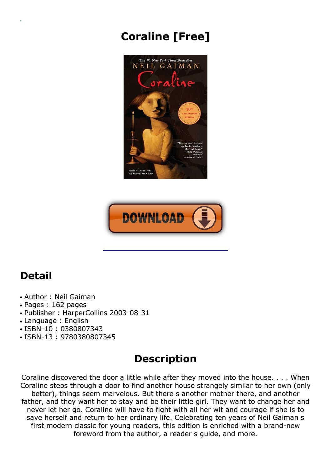Coraline Free By Dropmail5 Issuu