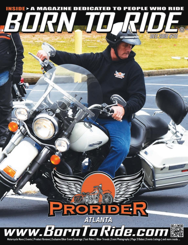 Born To Ride Southeast Motorcycle Magazine #70, November 2017