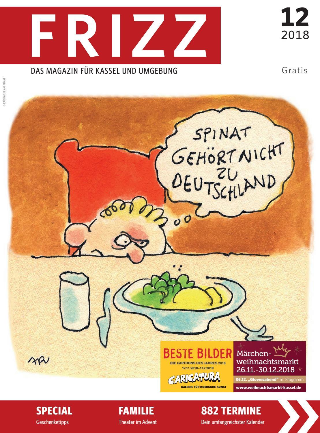 FRIZZ Das Magazin Kassel Dezember 2018 by frizz kassel issuu