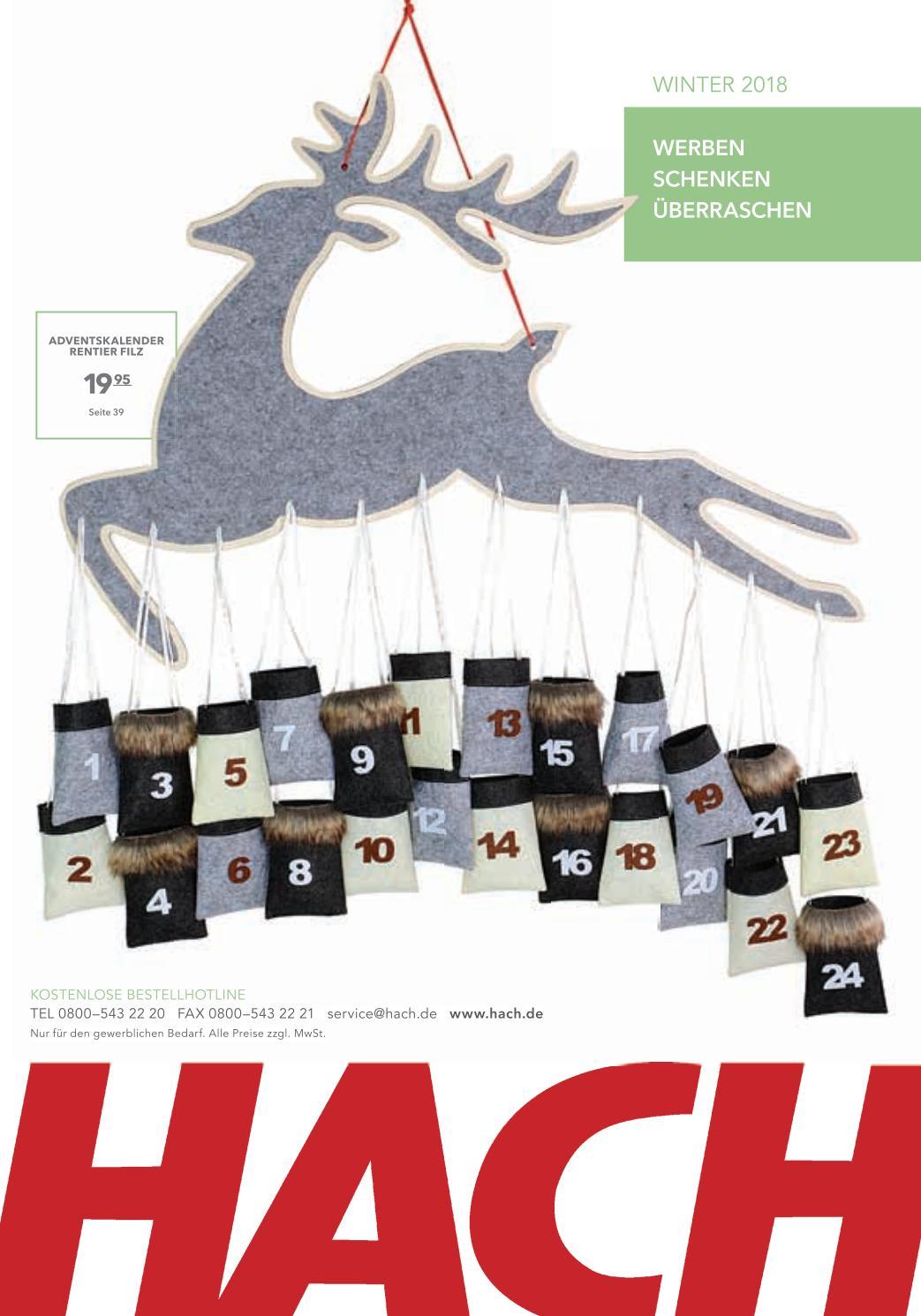 Ideen F303274r Weihnachtskarten.Hach Katalog Winter 2018 By Hach Kg Issuu