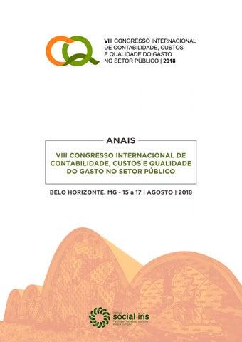 8dc12a39f0f55 ANAIS VIII CONGRESSO INTERNACIONAL DE CONTABILIDADE, CUSTOS E QUALIDADE DO  GASTO NO SETOR PÃ  x161 BLICO