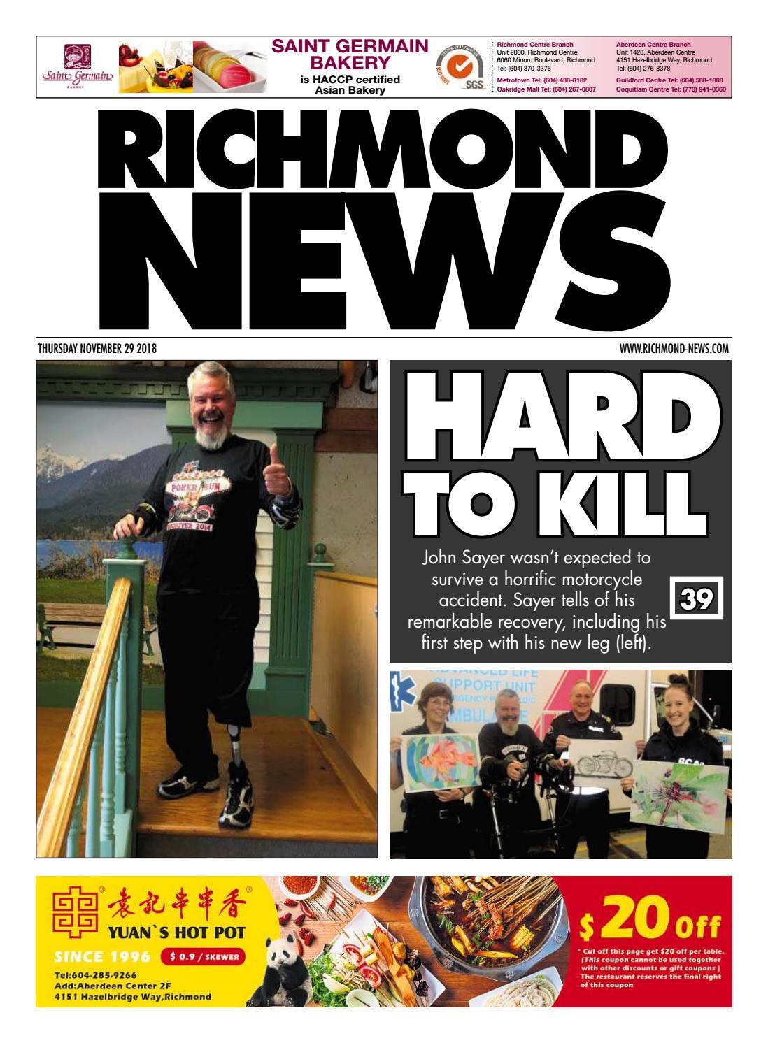 15a1023dcf63 Richmond News November 29 2018 by Richmond News - issuu