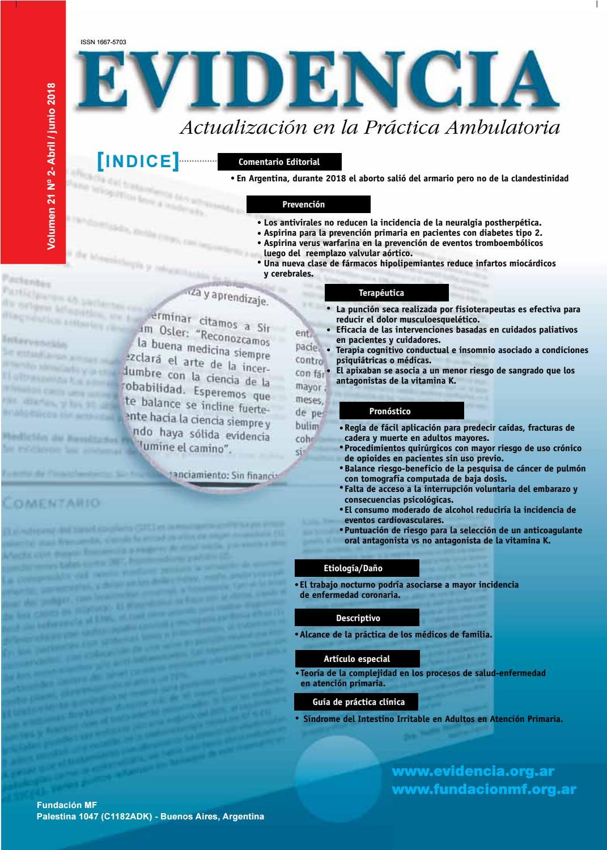 artículos de práctica basados en la evidencia sobre diabetes
