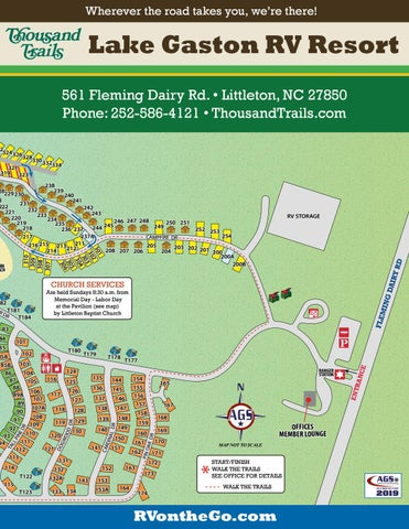 Thousand Trails Lake Gaston Rv Resort By Ags Texas Advertising Issuu
