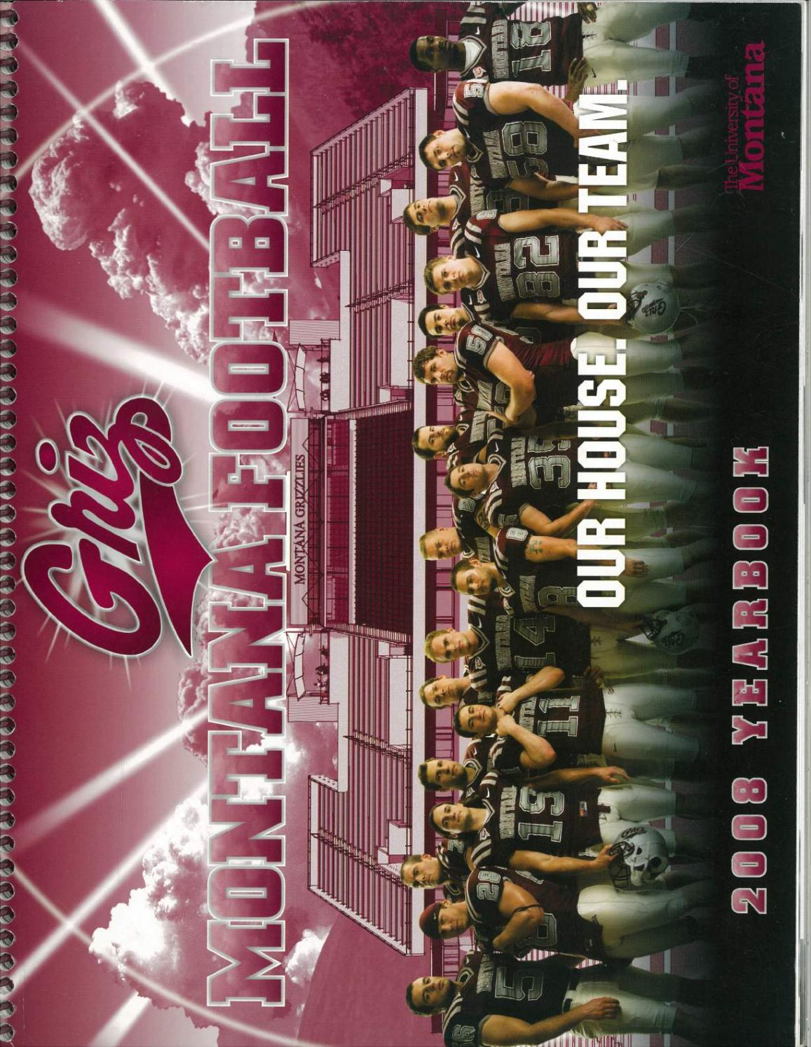 2008 Football Media Guide by University of Montana Athletics
