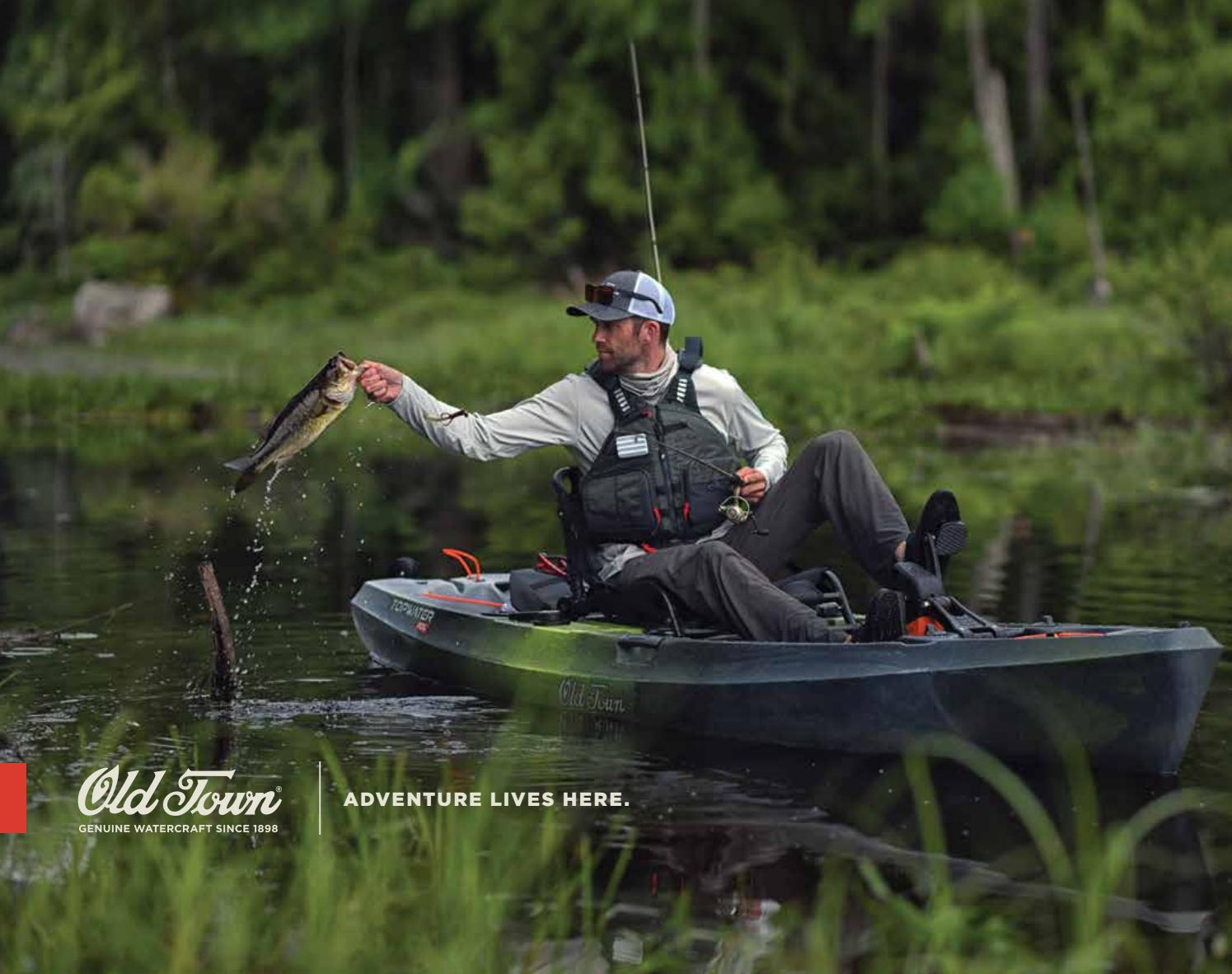2019 Old Town Catalog by Johnson Outdoors Watercraft - issuu