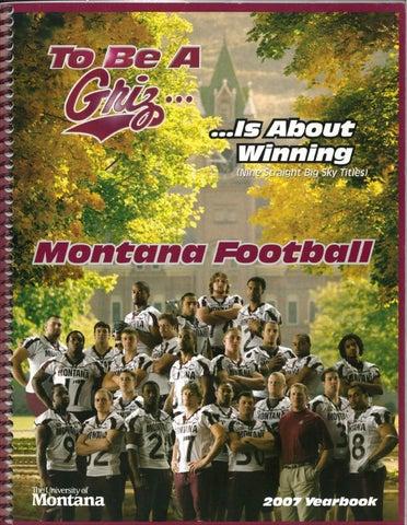 5eb99e340215 2007 Football Media Guide by University of Montana Athletics - issuu