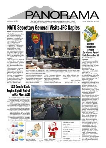 Panorama November 30, 2018 by NSA Naples - issuu