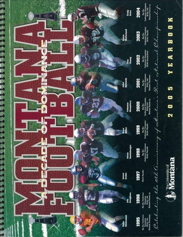 c02e42b257f1 2005 Football Media Guide by University of Montana Athletics - issuu
