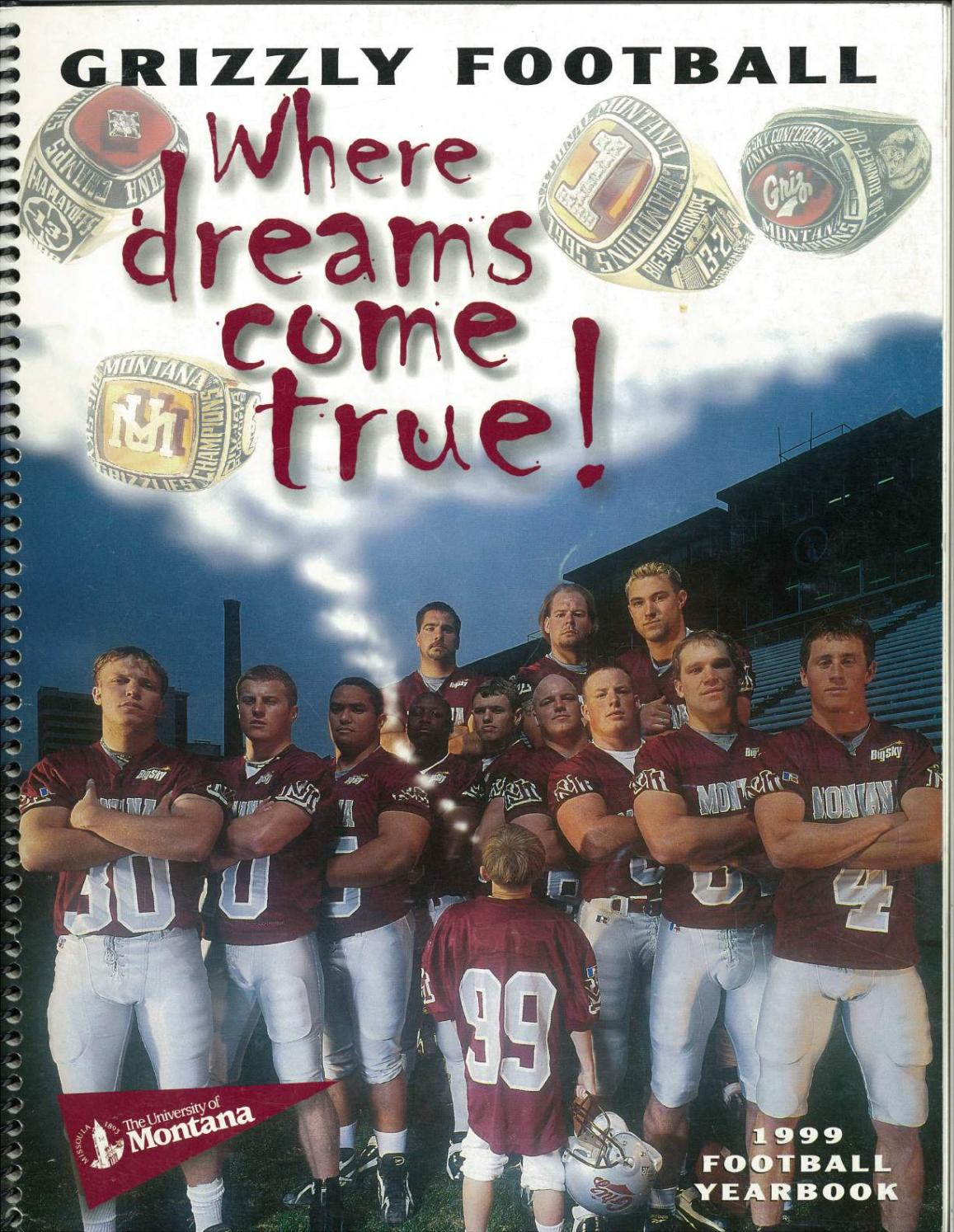 1999 Football Media Guide By University Of Montana Athletics