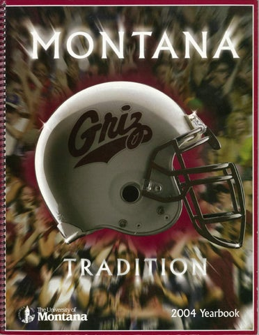 2004 Football Media Guide by University of Montana Athletics