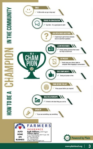 Page 3 of How to be a champion!