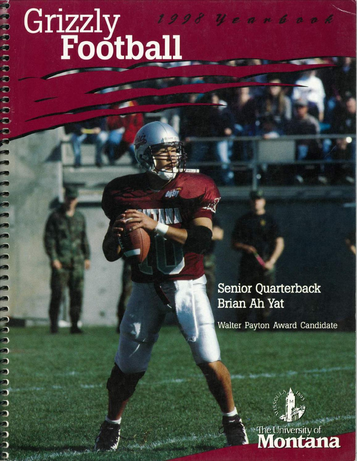 bcaf0613f9b 1998 Football Media Guide by University of Montana Athletics - issuu