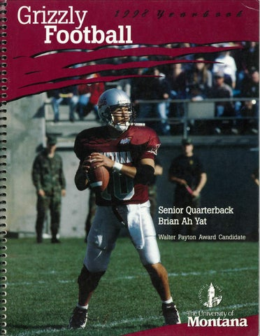 aff671b284b4 1998 Football Media Guide by University of Montana Athletics - issuu